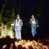 Local anti-suicide patrollers out at night. | ROB GILHOOLY