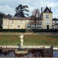 Under new management: Chateau Bellefont-Belcier stands in the wine-making area of Saint-Emilion in the Bordeaux region of southwest France. | AFP-JIJI