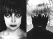 Positive and negative portraits of the Marquise Casati (1922)