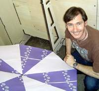 PETER HENNESSEY with 'My NSAT-110'