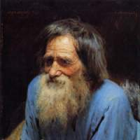Ivan Kramskoi's 'Mina Moiseyev' (1882), now on show at the Tokyo Metropolitan Art Museum, celebrates the Russian peasantry much as writer Leo Tolstoy's great works did.   © THE STATE RUSSIAN MUSEUM 2007-2008