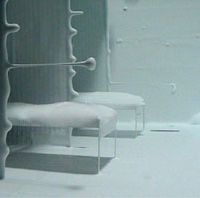 A scene from Saskia Olde Wolbers' video installation 'Placebo' (2002)