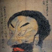 The goblin: 'Directly Painted Portrait of Perry,' by an unknown Japanese artist