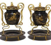 Mystic mountains: Mounted lacquerware jars | ROTHSCHILD FAMILY TRUST/MIKE FEAR/© THE NATIONAL TRUST, WADDESDON MANOR