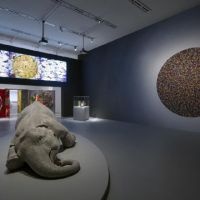 Where to, India?: Bharti Kher's 'The Skin Speaks a Language Not Its Own' (2006) at the Mori Art Museum for the exhibition 'Chalo! India' | QUEENSLAND ART GALLERY FOUNDATION/© BARTHOLOMEW/NETPHOTOGRAPH.COM