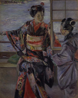 Old and new: 'Maiko' (1893) by Kuroda Seiki, an Important Cultural Property now showing at the National Museum of Modern Art, Kyoto | NATIONAL MUSEUM OF MODERN ART, KYOTO