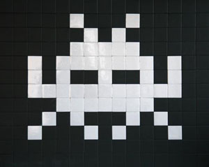 ''Home Sweet Home' by Invader'