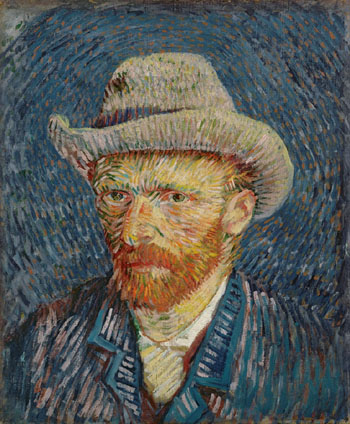 The line between creativity and madness: 'Self-portrait' (1887), Vincent Van Gogh. | © VAN GOGH MUSEUM, AMSTERDAM (VINCENT VAN GOGH FOUNDATION)
