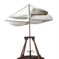Aiming high: A model of Leonardo da Vinci's helicopter. | © GRANDE EXHIBITIONS