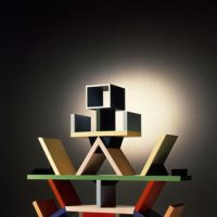 Bookish design: The unusual but functional 'Carlton (Memphis)' (1981) by Ettore Sottsass takes shelving to a quirky level. | ALDO BALLO