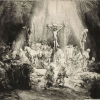 Finding divine light: 'The Three Crosses' (1653). | (C) THE REMBRANDT HOUSE MUSEUM AMSTERDAM