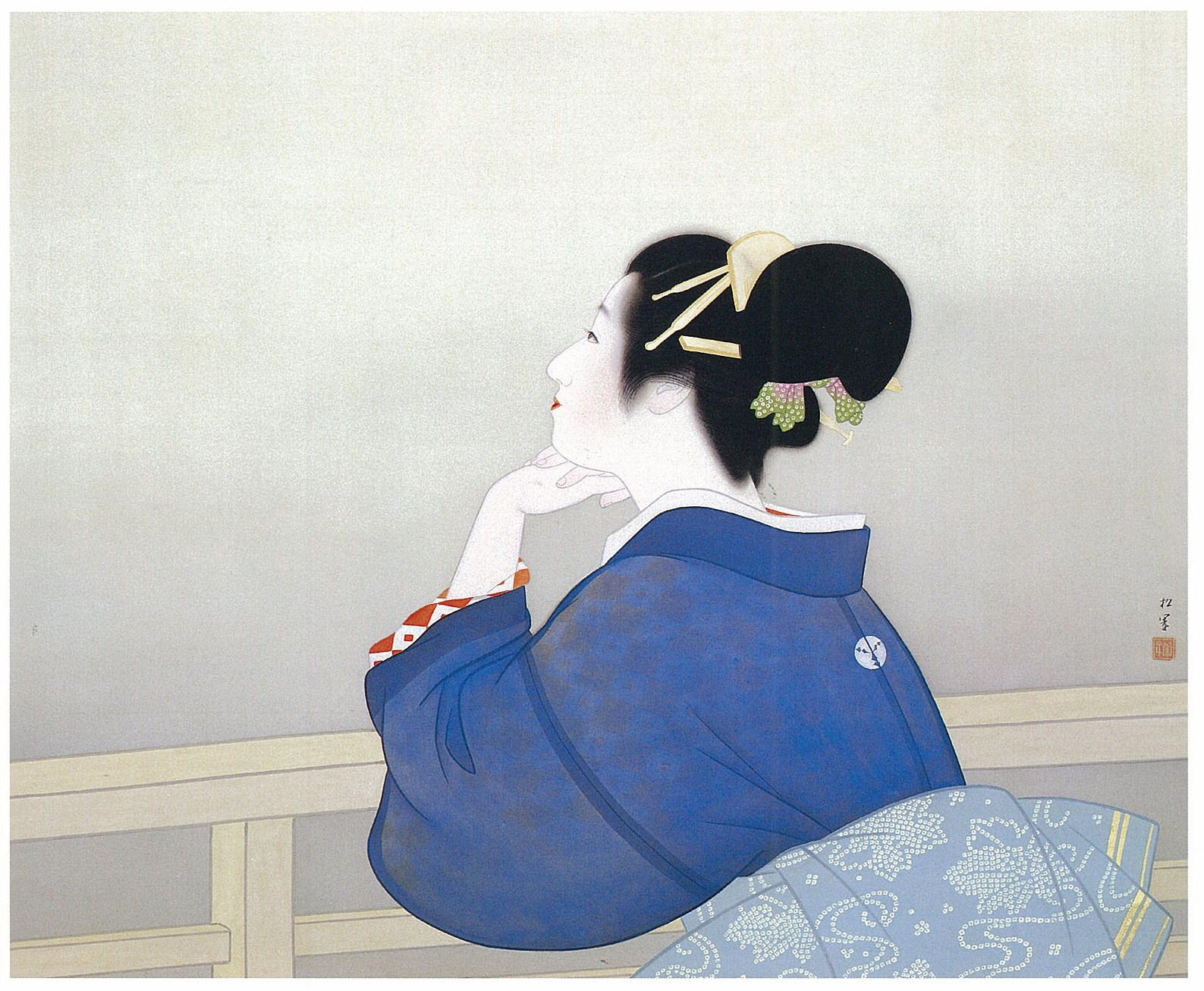 """""""Collection of Beautiful Women in Art: Gorgeous Women in Japanese Paintings"""""""