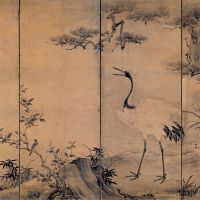 The rivaling schools of classic Japanese art