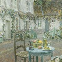Left alone with Henri Le Sidaner