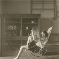 Key photographers from Japan: A Study of 'Katia Reading' by Hisaji Hara, whose works will be featured at this year's Caochangdi PhotoSpring in Beijing | IMAGE COURTESY OF CAOCHANGDI PHOTOSPRING © HISAJI HARA