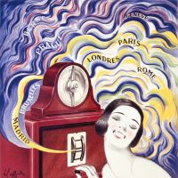 'SFER-20, Radiola' by Leonetto Cappiello (1925) | SUNTORY POSTER COLLECTION (DEPOSITED IN OSAKA CITY MUSEUM OF MODERN ART)