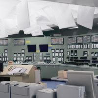 Paper weight: 'Control Room' (2011) depicts a scene in a photo taken at the Fukushima No. 1 power-plant control room. | © THOMAS DEMAND, VG BILD-KUNST, BONN / APG-JAA, TOKYO, COURTESY SPRUTH MAGERS BERLIN LONDON AND PKM GALLERY, SEOUL
