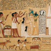 Death marks beginning of life in ancient Egypt