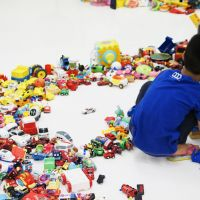 'Hiroshi Fuji Exhibition: Central Kaeru Station —Where Have All These Toys Come From?'