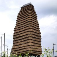New meeting spaces: 'Gejyo Thatched Tower' in Gejyo. | MIO YAMADA