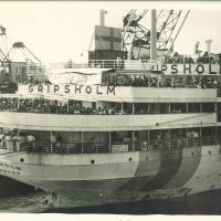 The Gripsholm, a repatriation ship for Japan and the United States (1942)