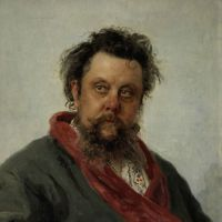 Friends in rebellion: 'Portrait of the Composer Modest P. Mussorgsky' (1881) | © THE STATE TRETYAKOV GALLERY