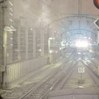 On the tracks: Projection work by Yukihiro Yamagami. | STUART MUINRO