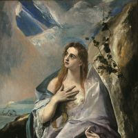 El Greco's 'Saint Mary Magdalene in Penitence' (c.1576)   © MUSEUM OF FINE ARTS, BUDAPEST