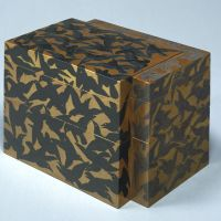 'Tiered Sweets Box with Crows and Egrets' (19th century)   PRIVATE COLLECTION