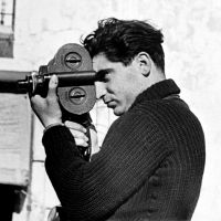 Robert Capa at Segovia front, Spain (1937)    | © INTERNATIONAL CENTER OF PHOTOGRAPHY