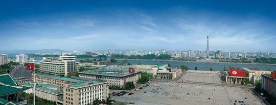 Pyongyang: the Orwellian city through its architecture