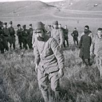 Shock and awe: This undated photo shows a Japanese soldier captured by the Soviet Army during the 1939 conflict near the village of Nomonhan along the Mongolian border. The Soviets using modern weapons outmaneuvered and overwhelmed the Japanese Army who thought cold steel and the Bushido spirit would win the day.