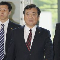 Phased out: Yoshiro Hachiro, former minister for Economy, Trade and Industry. | KYODO PHOTO