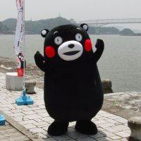 In the black: Kumamon, the official mascot of Kumamoto Prefecture, brought in ¥11.8 billion in revenues for the area in the first six months of 2012 alone. | KYODO