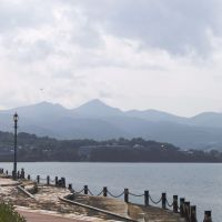 Minamata Bay, scenic source of the mercury-tainted seafood that visited such tragedy on many thousands of people. | COURTESY OF MINAMATA MUNICIPAL GOVERNMENT