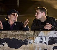 Jack Nicholson and Leonardo DiCaprio  in 'The Departed'