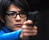If you poked fun at his nerdy specs, Tetsuji Tamayama, starring in 'Freesia,' would probably kill you. | (c)2006 JIRO MATSUMOTO/'FREESIA' PARTNERS