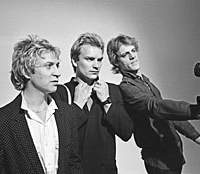 From left: Andy Summers, Sting and Stewart Copeland are The Police. Copeland's documentary on the band 'Everyone Stares/The Police Inside Out' is screening now. | (c)KAORI SUZUKI