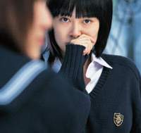 Rinko Kikuchi says her role as Chieko in the film 'Babel' has motivated her to 'know how far I can go.' | 2006 (c) BABEL PRODUCTIONS PHOTO