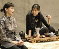 Lin Lihua from China (left) and Urara Awata from Japan in 'Lost Village,' which has also been performed in China | (c) KEITH SIU