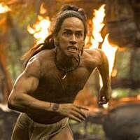 Rudy Youngblood spots some violence in 'Apocalypto.'