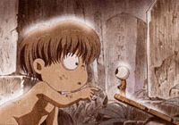 From 'Hakaba Kitaro,' a recent anime version of the original 'GeGeGe no Kitaro' manga