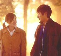 Romance flickers: Hao Lei and Guo Xiaodong in 'Summer Palace.'
