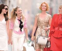 The Big Day: Kristin Davis, Sarah Jessica Parker, Cynthia Nixon and Kim Cattrall