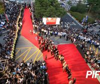Arrivals: Guests walk the red carpet at the Pusan International Film Festival. | COURTESY OF PIFF