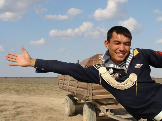 'Tulpan' (above), a Kazakhstan film about a misguided young ex-sailor who dreams of a new life, won TIFF's Sakura Grand Prix.