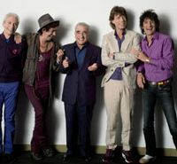 Charlie Watts, Keith Richards, Martin Scorsese, Mick Jagger and Ronnie Wood combine to deliver 'Shine a Light.'   © 2007 BY PARAMOUNT CLASSICS, A DIVISION OF PARAMOUNT PICTURES, SHINE A LIGHT, LLC AND GRAND ENTERTAINMENT (ROW) LLC. ALL RIGHTS RESERVED