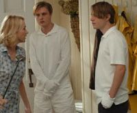 Serial sickos: Naomi Watts challenges Michael Pitt and Brady Corbet in `Funny Games.' | © 2007 CELLULOID DREAMS PRODUCTIONS - HALCYON PICTURES - TARTAN FILMS