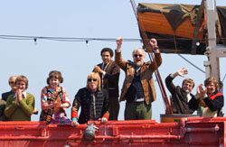 All are bored: At least the cast had fun on 'The Boat that Rocked.' | © 2009 UNIVERSAL STUDIOS. ALL RIGHTS RESERVED