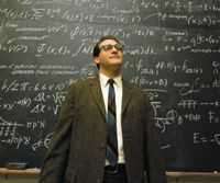 Glutton for punishment: Michael Stuhlbarg plays downtrodden physics professor Larry Gopnick in the Coen Brothers' 'A Serious Man,' a tale of Jewish life in suburban 1960s America.   © 2009 FOCUS FEATURES LLC. ALL RIGHTS RESERVED.